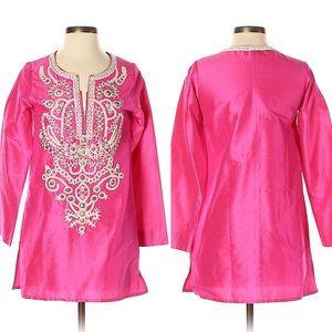 Sachin + Babi for Ankasa pink tunic top